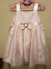 girl's pink sleeveless dress Markham, L6E 0A4