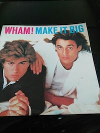 Album Wham! Make it Big poster Las Cruces, 88007