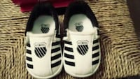 pair of white-and-black Adidas sneakers Palmdale, 93550