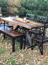 Beautiful handmade barn wood table set Centreville, 20120