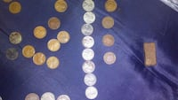 white and gold-colored coin collection Greer, 29651