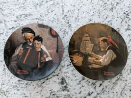Norman Rockwell Collection Plates