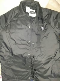 black Vans x The North Face button-up windbreaker