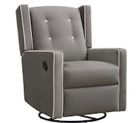 Swivel glider and recliner like new retails for $300 selling for $200. New York, 10025
