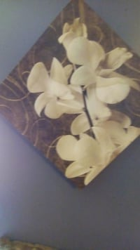 yellow orchids painting