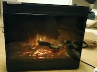 Artificial fireplace has to to settings for pick Edmonton, T6A 1H5
