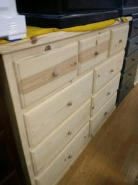 white wooden 6-drawer dresser Long Beach, 90805