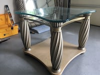 2 nice glass end tables Jackson Township