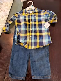 New shirt and pant for 2 years old