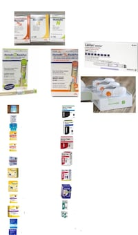 diabetic test strips and insulin