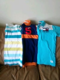 Boys tops with colars