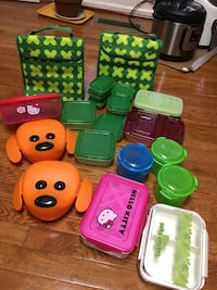 All for $12( lunch bag & lunch boxes) Fairfax, 22033