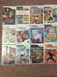 Wii Games Chantilly, 20152