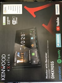 NIB - Kenwood Double Din Apple Car Play and Android Auto Langley City, V2Y 3H7