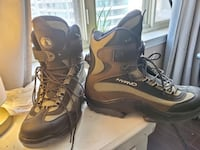 Winter boots with attachment for skating