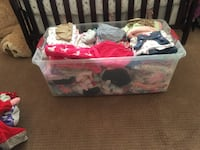 baby's assorted clothes Stockton, 95205