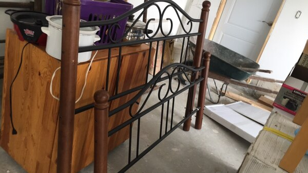 Queen Sized Metal Bed Frame
