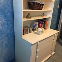 White Dresser with Removable Hutch  Mississauga, L5N