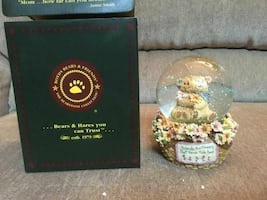 Boyds Bears Snow Globe