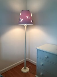 Pottery Barn Kids  Floor lamp base with butterfly shade  Frederick, 21701