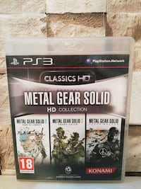 METAL GEAR SOLİD HD COLLECTİON PS3 ORJİNAL OYUN  8937 km