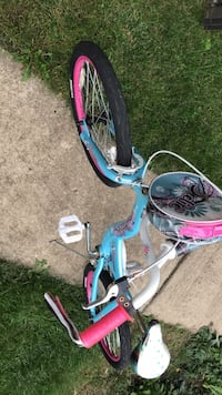 toddler's blue and pink bicycle Darien, 60561