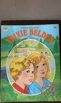 Trixie Belden  paper doll book  Alexandria, 22307