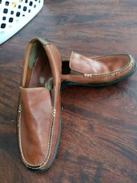 pair of brown leather loafers Irving, 75060