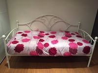 white, red, and green floral bed comforter Laval, H7H 2Y9