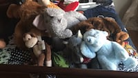 Assorted lot of stuffed animals larger than the usual Terrebonne, J6V 1J4