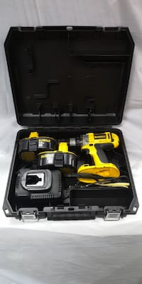 DEWALT DC987 18V CORDLESS HEAVY DUTY DRILL DRIVER, BATTERY, CHARGER AND CASE Largo