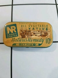 Rare very small laxative tin Hamilton, L8W 1M4
