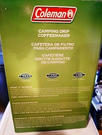 Coleman camping coffee maker Whitby, L1N 3H1
