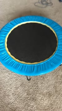 blue and black trampoline Green Island, 12183
