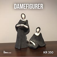 Damefigurer 5939 km