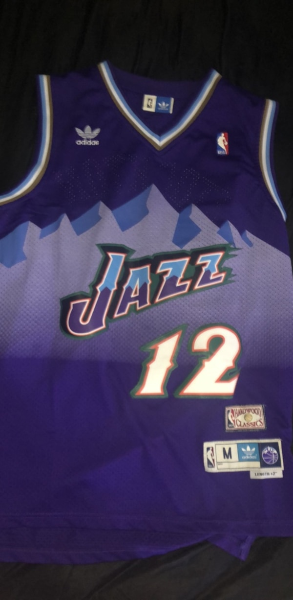 best loved 75bf9 75f2d Utah Jazz retro jersey: John Stockton