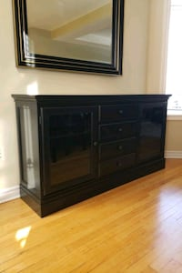 Pottery Barn Wood Buffet - Solid Wood Collection