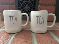 Rae Dunn Tea Mugs (New) Burlington, L7L 5W9