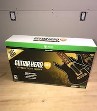 (NEVER USED) Guitar Hero Supreme Party Edition Xbox One Ashville, 43103