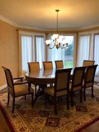 Dining Room Set with 8 Chairs