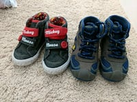 Toddler size 6 shoes $8 each Folsom, 95630