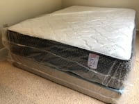 New Queen Pillowtop Mattress Boxspring FREE DELIVERY  Tampa, 33615