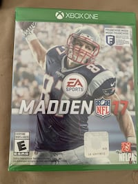 """MADDEN NFL """"17"""" Video Game (Xbox One)"""