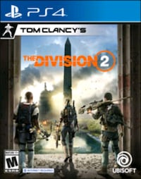 The division 2 ps4  Pawtucket, 02860