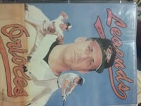 Legends Orioles trading card Tulsa, 74110