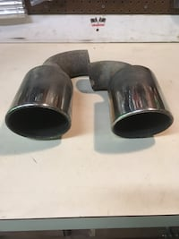 Exhaust tips, came off Nissan 350z Linden, 22642