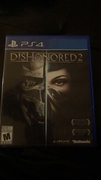 Dishonored 2 PS4 Mississauga, L5N 2H9