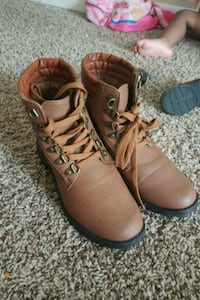 pair of brown leather boots Norfolk, 23505
