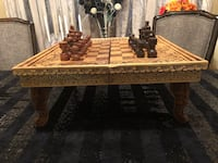 Beautiful Wood Chess & Backgammon Game from Bali please look at all pictures Laval, H7C