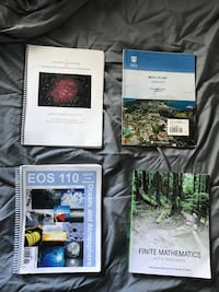 University Astronomy 102, EOS 110 and Math 151 books Victoria, V8N 3H9